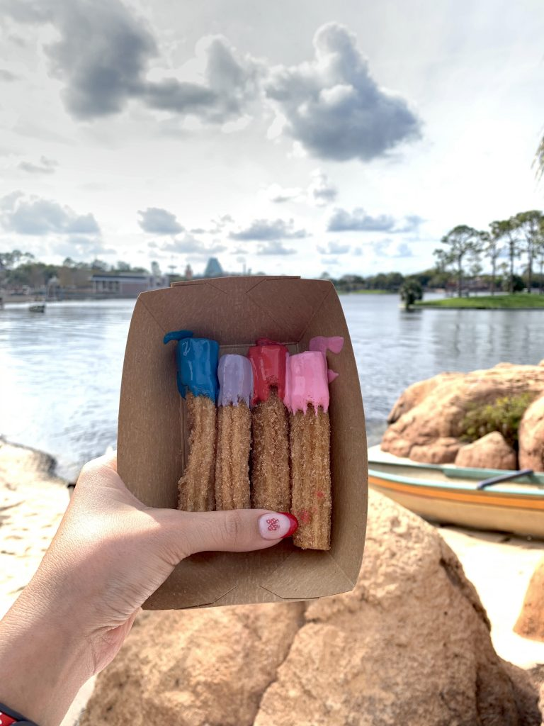 Disney Epcot Paintbrush Churros