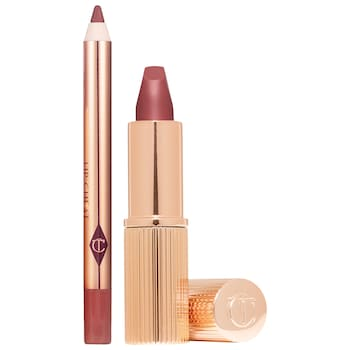 Charlotte Tilbury Mini Pillow Talk Lipstick and Liner Set