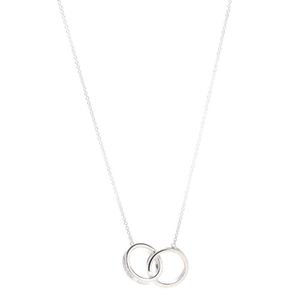 Tiffany & Co. 1837 Interlocking Circles Pendant Necklace